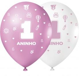 1 Aninho 9'' Menina Sortidos - Pct. 25 Unid.