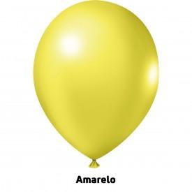 Tradicional 9'' Amarelo - Pct. 50 Unid.
