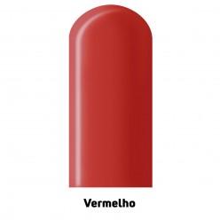 Canudo para Modelar 260'' Vermelho - Pct. 25 Unid.