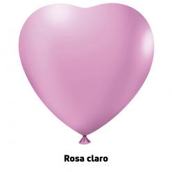 Big Coração 150'' Rosa Claro - Unid.