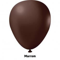 Extra Big Balão 350'' Marrom - Unid.