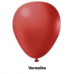 Extra Big Balão 350'' Vermelho - Unid.