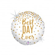 Best Day Ever Glitter 18'' - Unid. 36589gh