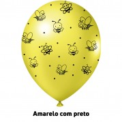 Abelinha 9'' Amarelo - Pct. 25 Unid.