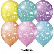 Fundo do Mar 9'' Sortidos - Pct. 25 Unid.