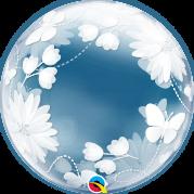 Bubble 20'' Borboletas e Flores - Unid. 11560b-feb