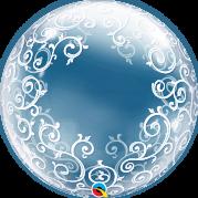Bubble 24'' Filigrana Chique - Unid. 13693b-feb