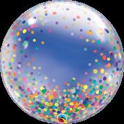 Bubble 24'' Pontos de Confete Coloridos - Unid. 57791b-feb