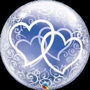 Bubble 24'' Corações Entrelaçados - Unid. 84696b