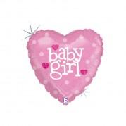 Coração Baby Girl 18'' - Unid. 86602h