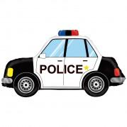 Carro de Polícia 34'' - Unid. 35686
